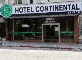 Hotel Continental, hotel cerca de Terminal Tres Cruces, Montevideo