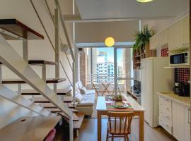 Aconchegante Duplex no Brooklin V, hotel with jacuzzis in Sao Paulo