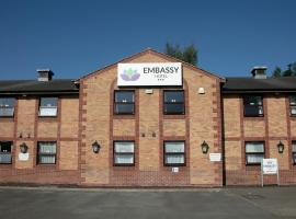 Embassy Hotel, Gateshead Newcastle, Sure Hotel Collection by Best Western, hotel in Newcastle upon Tyne