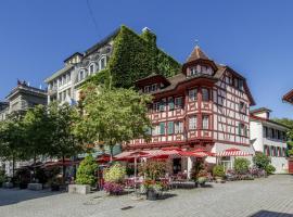 Hotel Rebstock, отель в Люцерне