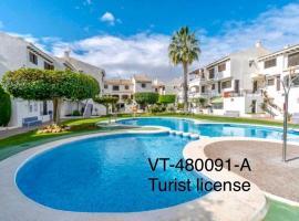 Oleza Garden - Laguna Rosa - Playa Flamenca - Pool & Garden View., hotel in Playa Flamenca