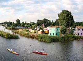 Camping Zeeburg Amsterdam, hotel in Amsterdam
