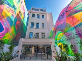 Hellenic Vibes Smart Hotel, hotel in Athens