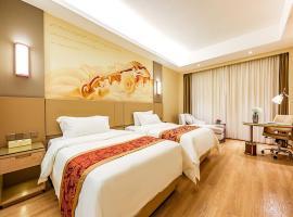 Vienna International Hotel Chong Qing Yu Bei Airport, hotel perto de Aeroporto Internacional de Chongqing Jiangbei - CKG, Chongqing