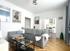 BIANCO - Apartament Gdynia Śródmieście 6os, apartment in Gdynia