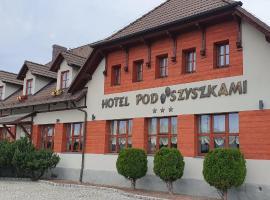 Zajazd Pod Szyszkami – hotel w mieście Krotoszyn