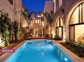 Rimondi Boutique Hotel - Small Luxury Hotels of the World, hotel with pools in Rethymno Town