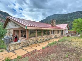 Ouray Home with Patio - 3 Miles to Downtown!, budget hotel in Ouray
