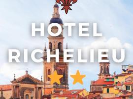 Hôtel Richelieu, hotel in Menton