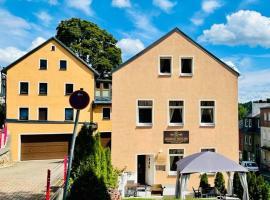 Hotel Goldenesvogtland, hotel in Adorf