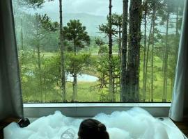 Cascata dos Amores, cabin in Urubici