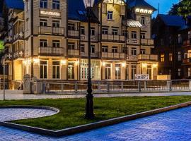 Hotel Willa Tatrzańska, hotel in Krynica Zdrój