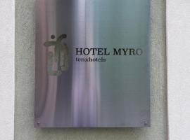 Hotel Myro, hotel en Gijón