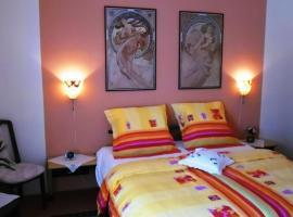 Apartmany Sabo, hotel poblíž významného místa Černý most stanice metra, Praha