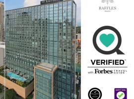 Raffles Makati - Multiple Use Hotel, hotel in Manila