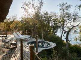 Victoria Falls River Lodge, hotel in Victoria Falls