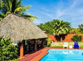 Hotel Palapas Tortuga, hotel in Puerto Escondido