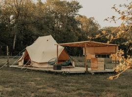 The Glamping by Wings, hotel near Florennes Avia Golf Club, Franchimont