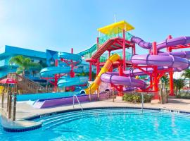Flamingo Waterpark Resort, family hotel in Kissimmee