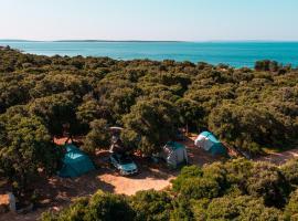 Camping Sugar, campsite in Mandre