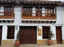 Casa Cantabria Hotel, hotel in Villa de Leyva
