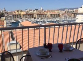 Suite privée du balcon du vieux port Marseille, serviced apartment in Marseille