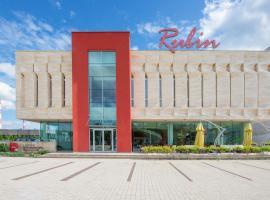 Centrum Konferencyjno - Bankietowe Rubin – hotel w pobliżu miejsca Centrum handlowe Manufaktura w Łodzi