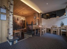 Curling Hôtel & Bar, hôtel à Tignes