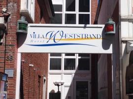 Hotel Villa Weststrand, Hotel in Borkum