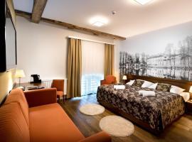 Hotel Tvrz Orlice – hotel w mieście Letohrad