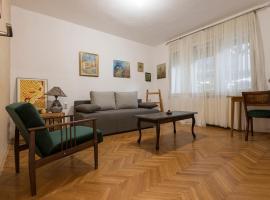 Urban oasis, apartment in Skopje