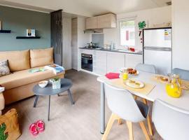 mobil home de luxe a prix doux, campsite in Valras-Plage