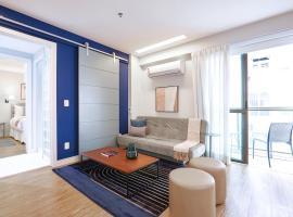 Sua estadia na Lagoa - Apartamento com garagem, hotel in Rio de Janeiro