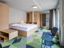 The Lab Hotel & Apartments, отель в Туне