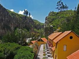 Hotel El Refugio, hotel en Chivay