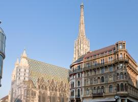PRIVATE COMFORT STEPHANSPLATZ - 24 HOURS SELF CHECK IN, B&B in Vienna