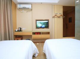 格林联盟酒店深圳会展中心福田口岸店 Greentree Alliance Hotel, hotel in Shenzhen