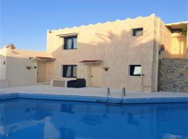 Junior Villa full view for up to 8 vacationers, budget hotel in Hersonissos