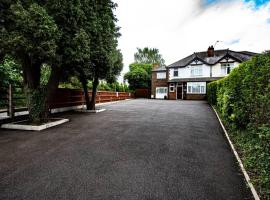 Luxury house. Prime location. 6 Ensuites,parking., hotel in Derby