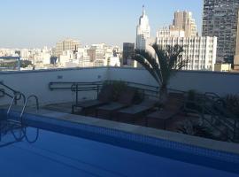 Sky Brigadeiro Tobias, hotel with pools in Sao Paulo