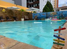 Pousada Cabo Branco, hotel with pools in João Pessoa