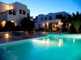 Keros Art Hotel, accessible hotel in Koufonisia