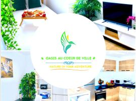 Oasis au Coeur de Ville Sens, apartment in Sens