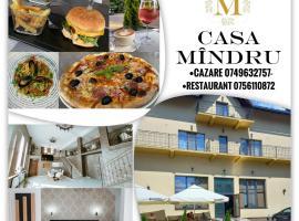 Casa Mindru, pensiune din Topliţa