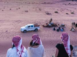 Mohammed Zawaydeh Camp, luxury tent in Wadi Rum