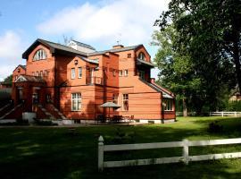 Villa Alberta, hotel in Sigulda