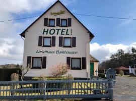 Landhaus Balkhausen, Hotel in der Nähe von: Nürburgring, Nürburg