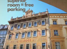 Hotel Rott, hotel near Charles Bridge, Prague