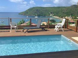 Maison de 4 chambres a Les Anses d'Arlet avec magnifique vue sur la mer piscine privee jardin clos, Villa in Les Anses-d'Arlets