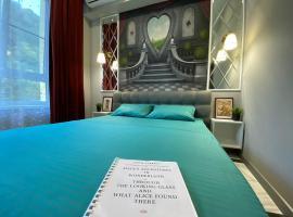 Квартира - уютная норка VIP по мотивам Алисы в стране чудес, отель в Сочи